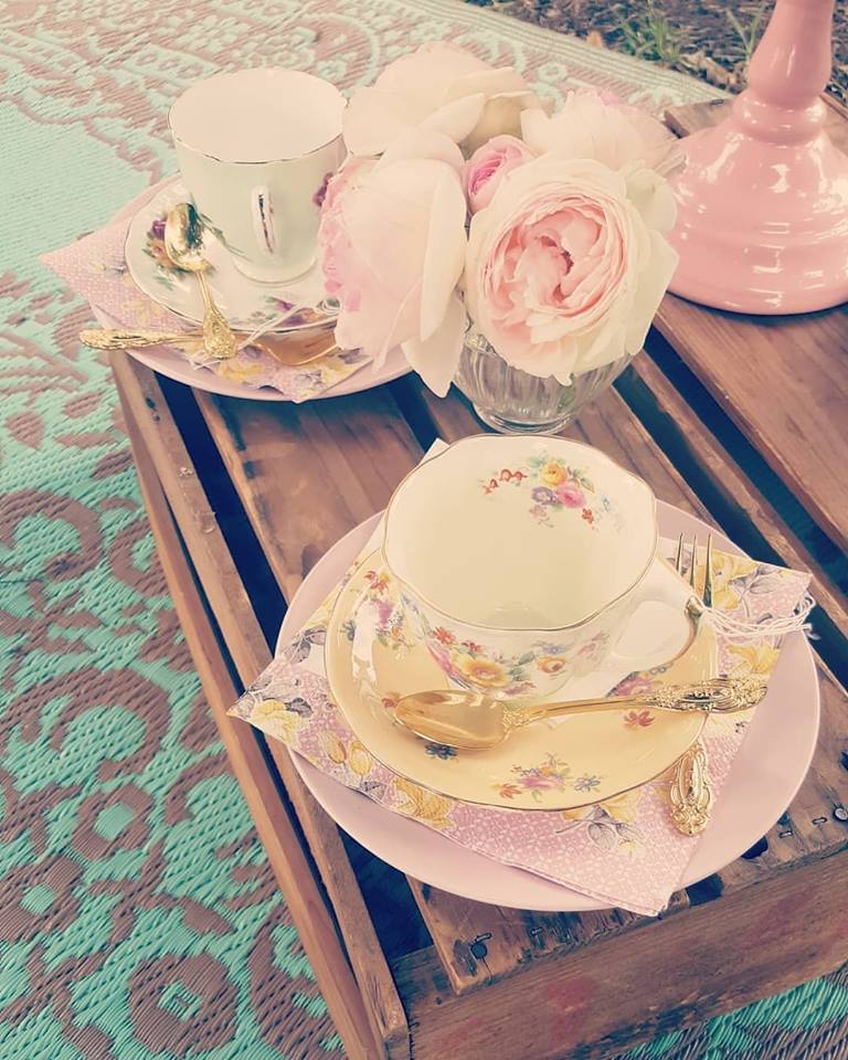 Pop Up High Tea Amongst the Roses at the Victoria State Rose & Garden Show