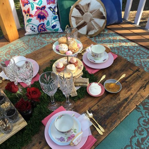 January Pop Up High Tea