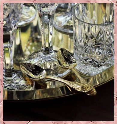 Crystal Cut Glass Tumblers