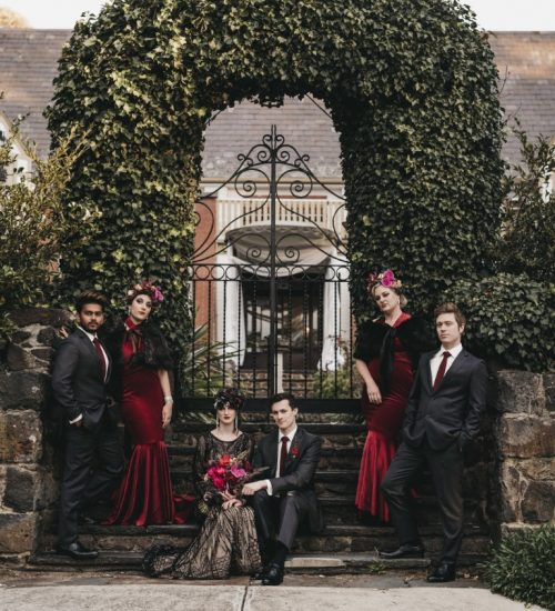 Winter romance collaboration by The High Tea Mistress